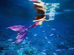 完美水下孕妇写真