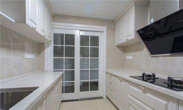 经济型100平米三室一厅美式风格厨房欣赏图
