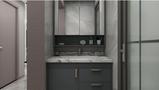 经济型90平米三室两厅英伦风格阳台装修案例