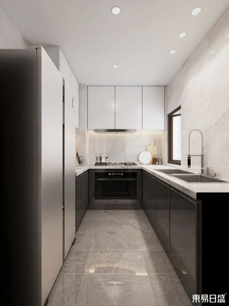 140平米复式现代简约风格厨房装修效果图