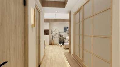 15-20万90平米三室两厅日式风格走廊欣赏图