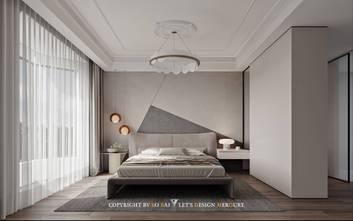110平米三室两厅法式风格卧室设计图