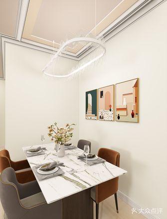 富裕型120平米三轻奢风格餐厅装修效果图