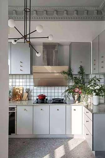 120平米三室两厅田园风格厨房效果图