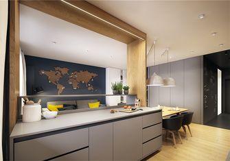 豪华型50平米一室一厅现代简约风格厨房欣赏图