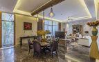 120平米三东南亚风格客厅欣赏图