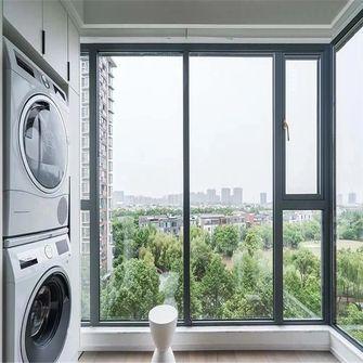 经济型80平米现代简约风格阳台装修图片大全