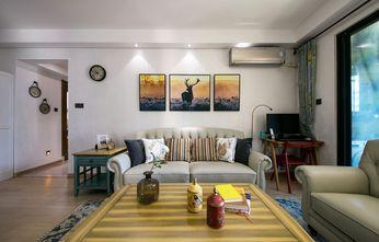 3万以下90平米三室一厅地中海风格客厅效果图