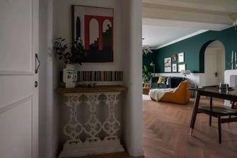 经济型70平米三室一厅混搭风格玄关装修效果图