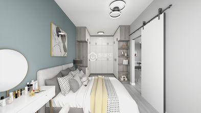 60平米一室两厅田园风格卧室图片大全