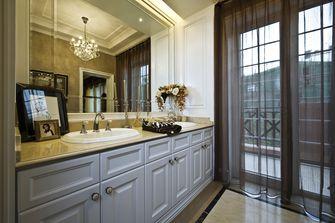 富裕型140平米复式欧式风格卫生间欣赏图