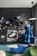 140平米别墅新古典风格青少年房装修效果图