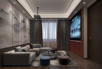 富裕型140平米复式中式风格影音室装修图片大全