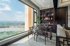 富裕型140平米四中式风格阳台欣赏图