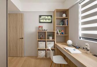 豪华型70平米日式风格书房图