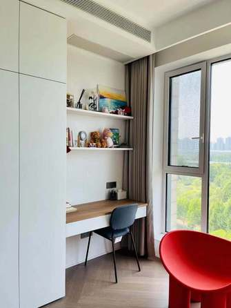 120平米复式欧式风格卧室装修案例