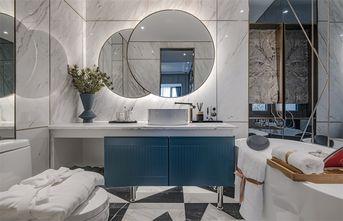 20万以上120平米三室一厅轻奢风格卫生间装修案例