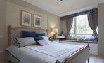 10-15万110平米三室一厅田园风格卧室图