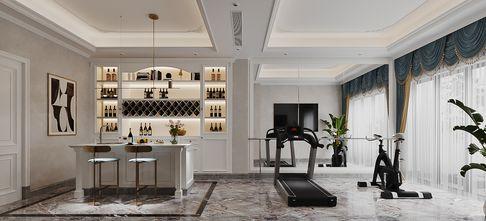140平米别墅轻奢风格健身房装修图片大全