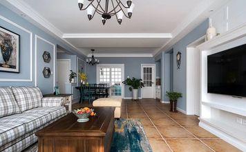 20万以上110平米三室一厅美式风格客厅图片大全