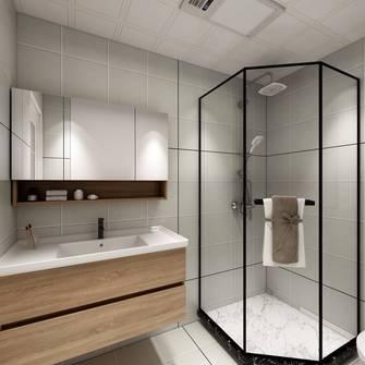 140平米四室两厅日式风格卫生间装修案例