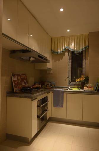 15-20万120平米三室一厅北欧风格厨房装修图片大全