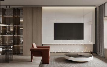 20万以上140平米四室一厅田园风格客厅图片