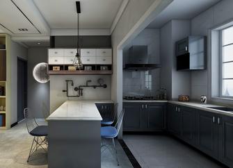 富裕型100平米三室两厅混搭风格厨房图片