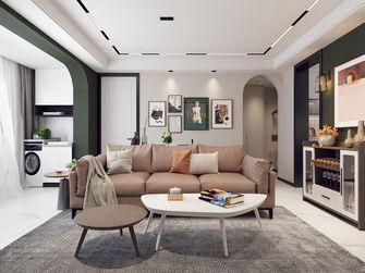 豪华型90平米三室两厅混搭风格客厅图片
