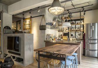 豪华型110平米一室一厅工业风风格餐厅图