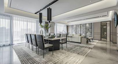 10-15万120平米三室两厅现代简约风格餐厅装修图片大全