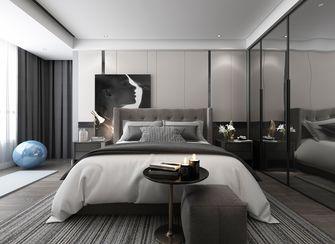 豪华型140平米三室三厅现代简约风格卧室装修图片大全