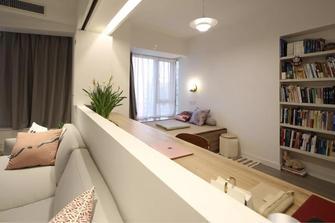 80平米现代简约风格客厅效果图