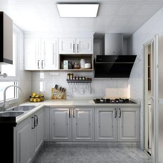 3-5万60平米公寓现代简约风格厨房设计图