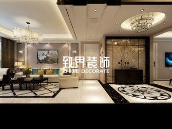 90平米三室两厅港式风格玄关设计图