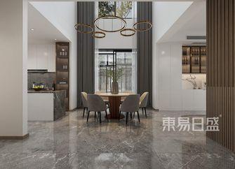 富裕型140平米四室一厅现代简约风格餐厅设计图