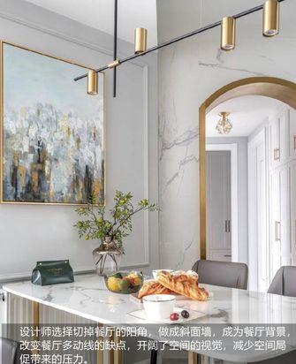 富裕型100平米四室两厅现代简约风格餐厅装修效果图