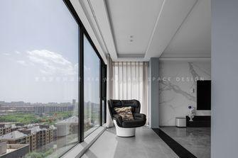 富裕型140平米三室两厅现代简约风格阳台装修效果图