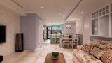 15-20万130平米四室两厅田园风格客厅装修案例