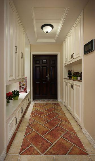 富裕型140平米三室两厅美式风格玄关图片
