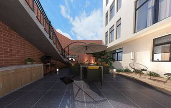 20万以上140平米别墅混搭风格其他区域效果图