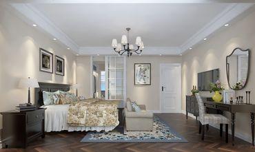 10-15万140平米别墅美式风格卧室效果图