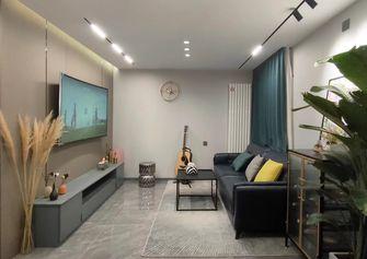 富裕型100平米现代简约风格客厅效果图