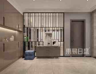 20万以上140平米别墅现代简约风格玄关图