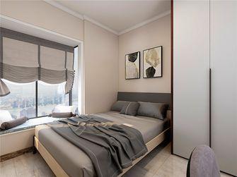 70平米三室一厅现代简约风格卧室设计图