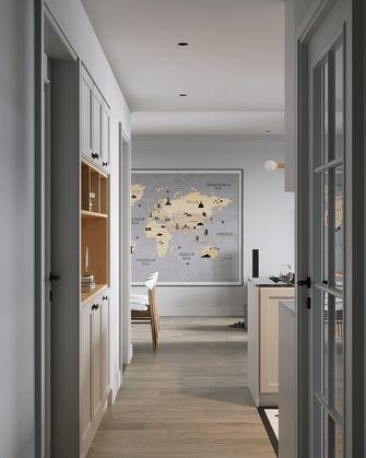 富裕型90平米三室两厅北欧风格走廊装修案例