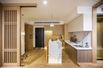 80平米三室一厅日式风格玄关图