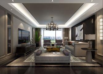 20万以上110平米三室一厅法式风格客厅装修效果图
