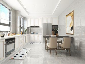 富裕型100平米三室两厅欧式风格餐厅图