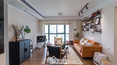 100平米三室一厅混搭风格客厅装修案例
